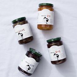 트라피스트 수녀원 유기농 딸기 무화과 포도 귤 잼 410g
