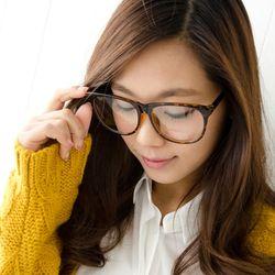 A1554 컬러팝 안경(케이스포함)