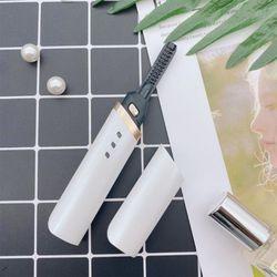 USB충전식 속눈썹펌 고데기 드라이기 매직컬 화이트