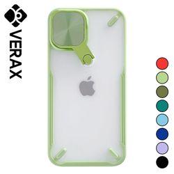 아이폰XS 미러 컬러 라인 투명 실리콘 케이스 P617