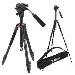 VT-341M 프리미엄 카메라 삼각대 + VD-605 비디오 헤드 SET