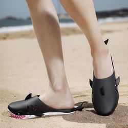 아기상어 슬리퍼 아쿠아슈즈 해변 바다 비치 신발