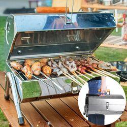 휴대용 야외 경량 캠핑용 낚시 BBQ 바베큐 그릴