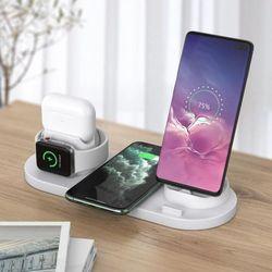 5in1 아이폰 무선 충전대 애플워치 에어팟 충전기