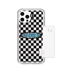 샤론6 카드 쏙 케이스 체커보드