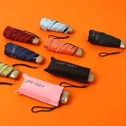 초경량 우산 미니 5단 양산 자외선차단 양우산