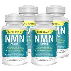 NMN 니코틴아미드 모노뉴클레이티드 500mg 60캡슐X4