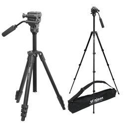 VT-343F 프리미엄 카메라 삼각대 + VD-605 비디오 헤드 SET