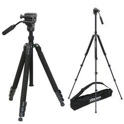 VT-347FX 프리미엄 카메라 삼각대 + VD-605 비디오 헤드 SET