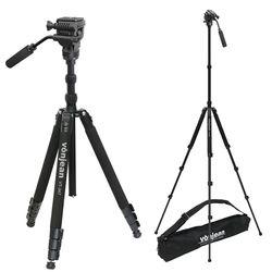 VT-347TX 프리미엄 키큰 카메라 삼각대+VD-605 비디오 헤드 SET