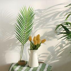 야자잎 잎사귀 아레카 조화 대형 나뭇잎 야자수