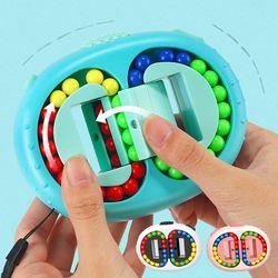 회전 매직빈 피젯 패드 큐브 팝잇 스핀 토이 입체퍼즐
