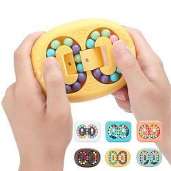 회전 매직빈 피젯 큐브 스피너 토이 입체 퍼즐 장난감