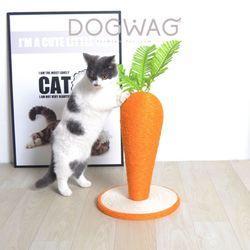 당근 수직 스크래쳐 고양이 스트래스 해소 발톱관리 장난감