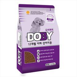 국산 강아지사료 도비 퍼피 4.5kg 생후 12개월이하 개사료