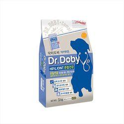 국산 강아지사료 닥터도비 5kg 관절건강 개사료