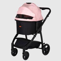 루쏘 프리미엄 강아지유모차 표준형 L - 핑크