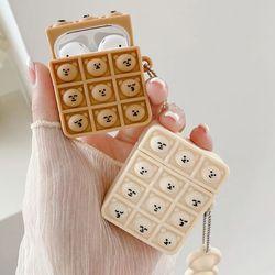 에어팟 프로 1 2 3세대 동글 표정 키링 팝잇 케이스