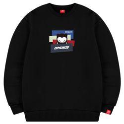 오리가미 남자 빅사이즈 맨투맨 프린팅 티셔츠