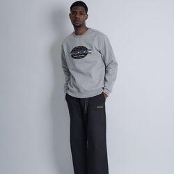 레인보우 남자 빅사이즈 맨투맨 프린팅 티셔츠