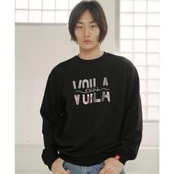 볼라필기 남자 빅사이즈 맨투맨 프린팅 티셔츠