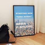 BFMA A4 A3 포스터 - 테이크액션