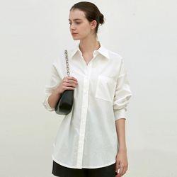 CLASSIC COTTON SHIRT [WHITE]