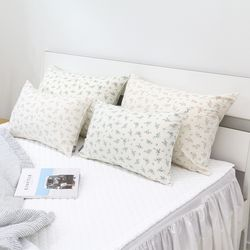 라온 플라워 베개 커버 50X70cm 2colors 솜별매
