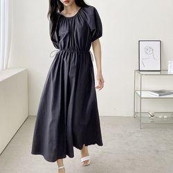 Sound Puff Long Dress