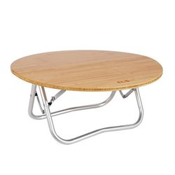 BAMBOO 라운드 테이블 접이식 캠핑테이블 캠핑용품