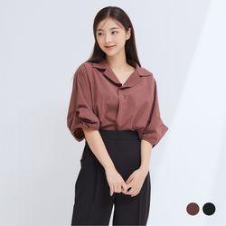[클라비스] 바스락꼬임소매셔츠2colorsCVYWB3801M