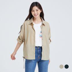 [클라비스] 자수레터아우터형셔츠2colorsCVYWB3802Q