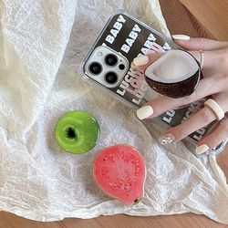 휴대폰 과일도넛 스마트톡 그립톡 거치대/아이폰 삼성