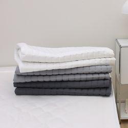 보드레 마이크로모달 미끄럼방지 사계절 침대패드(K)