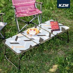 카즈미 캠핑테이블 슬림미니 3폴딩 테이블 II