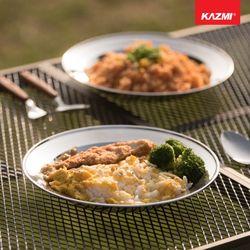 카즈미 캠핑용품 캠핑 식기세트 (17P)