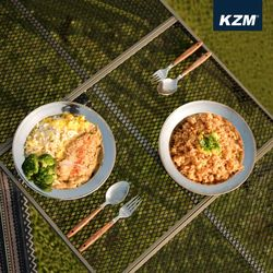 카즈미 캠핑용품 캠핑 식기세트 (22P)
