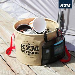 카즈미 캠핑용품 캠핑 씽크볼 27L