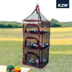 카즈미 캠핑용품 사각 식기건조망