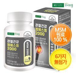 [건국] 관절건강 엠에스엠2000 120정x1개(2개월)