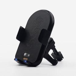 크리츠 차량용 고속 무선 충전 자동센서 거치대 CRZ-C300