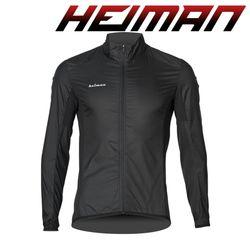 하이만 자전거의류 남성용 HMWDB 윈드자켓 블랙
