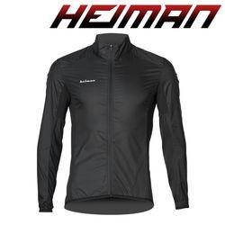 하이만 자전거의류 여성용 HMWDB 윈드자켓 블랙