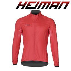 하이만 자전거의류 남성용 HMWDB 윈드자켓 레드