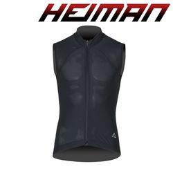 하이만 자전거의류 공용 HM베스타 민소매 져지 블랙