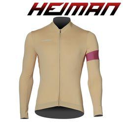 하이만 자전거의류 남녀공용 HM665 롱 져지 베이지