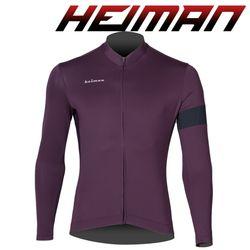 하이만 자전거의류 남녀공용 HM663 롱 져지 자주
