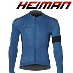 하이만 자전거의류 남녀공용 HM662 롱 져지 블루