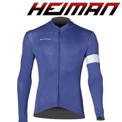 하이만 자전거의류 남녀공용 HM661 롱 져지 네이비
