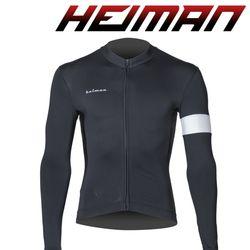 하이만 자전거의류 남녀공용 HM660 롱 져지 블랙